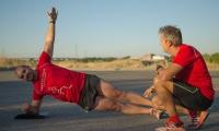 Plancha lateral con desequilibrio